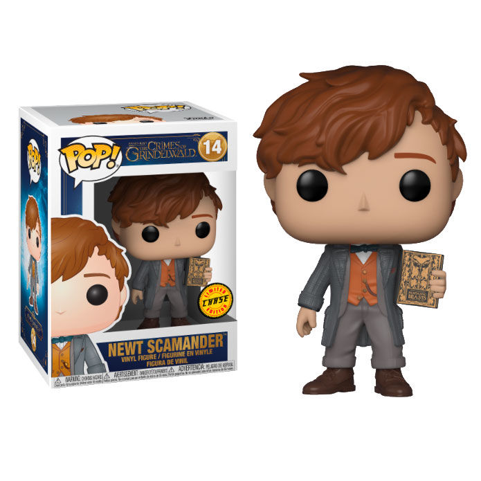 POP! Figure Fantastic Beasts 2 The Crimes of Grindelwald Newt Scamander Chase
