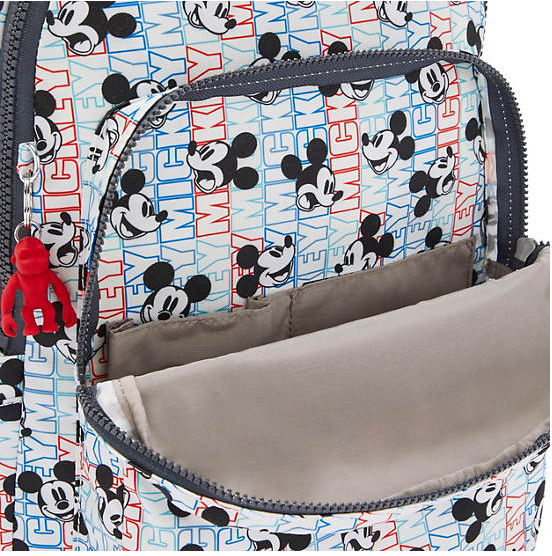 "Disney Mickey 15"" Laptop Backpack Seoul Large - Kipling Exclusive"