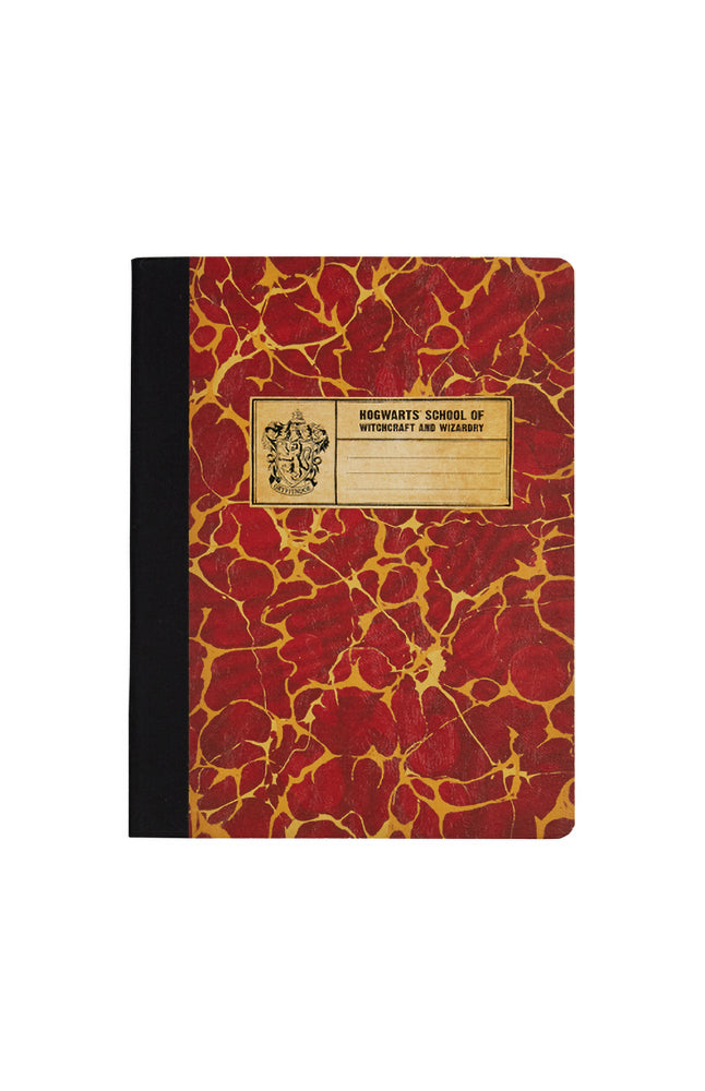 Universal Studios Harry Potter Gryffindor Composition Book