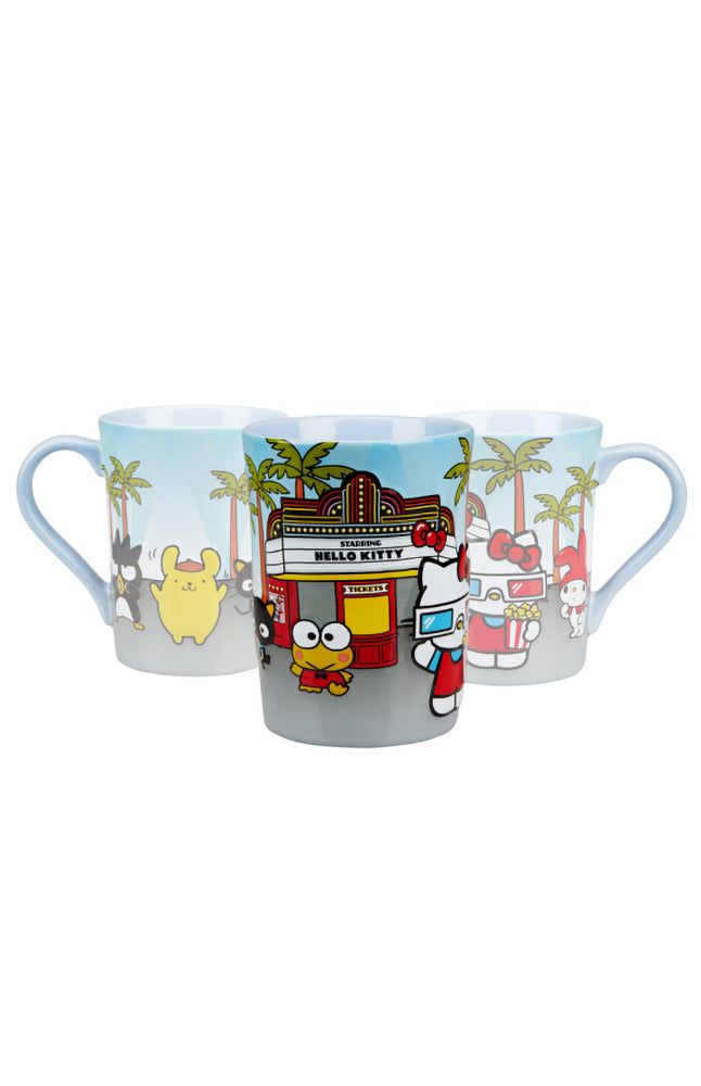 Universal Studios Hello Kitty Goes to the Movies Mug