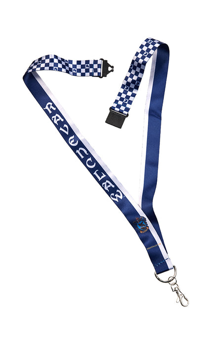 Universal Studios Harry Potter Ravenclaw Checkered Lanyard