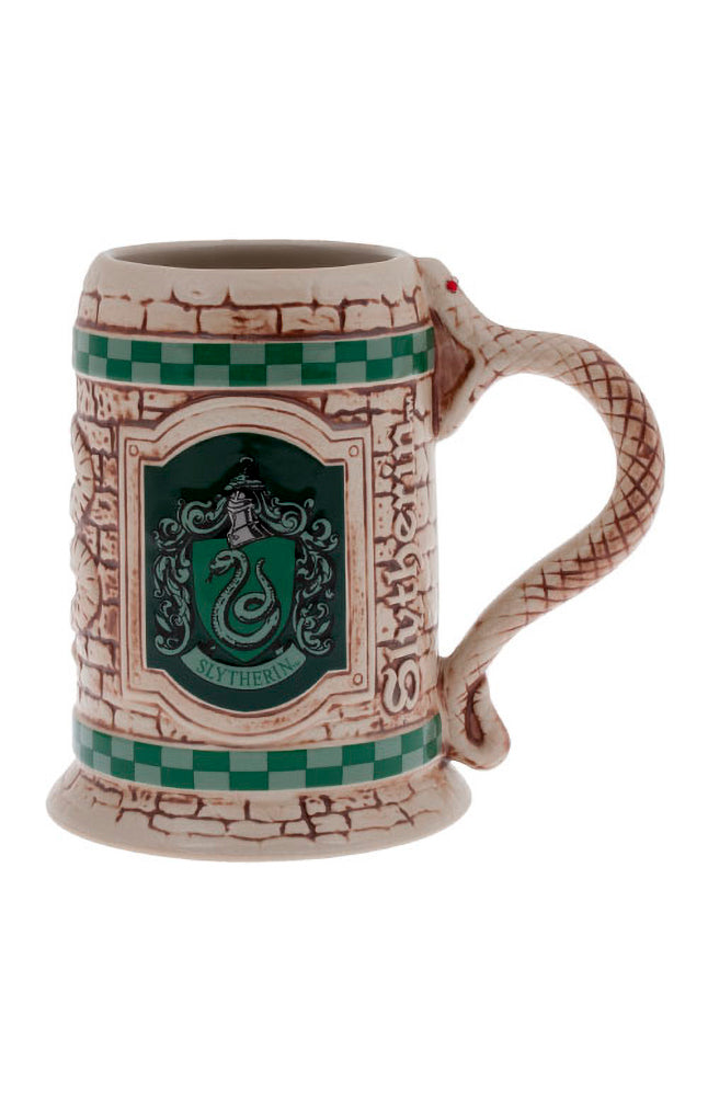 Universal Studios Harry Potter Slytherin Stein