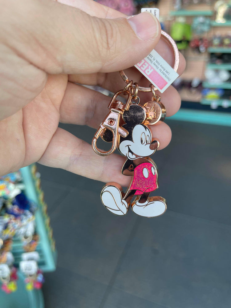 Disney Parks Mickey Mouse Original with Charm Keychain