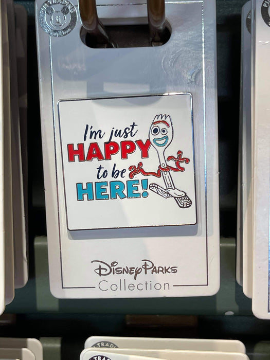 Disney Parks 'Pin Trader' I'm just happy to be here Pin