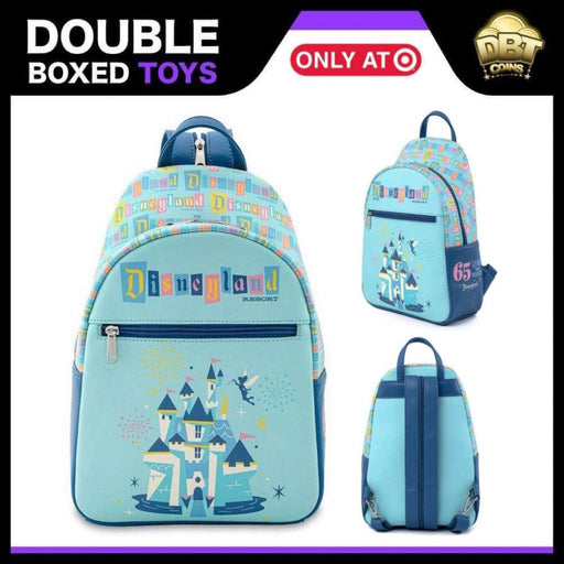 Disneyland 65th Anniversary Mini Backpack - Target Exclusive