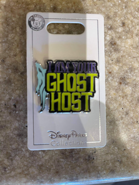 Disney Parks 'Pin Trader' I am your Ghost Host Pin