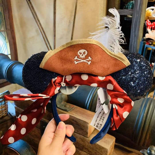Pirate Mickey Headband - Disney Parks HK Exclusive