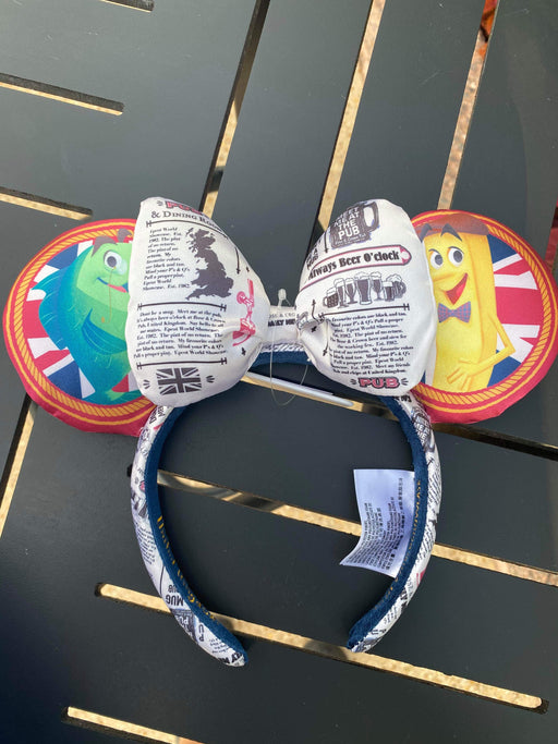 Disney Parks - Fish & Chips Ears - Disney Parks Epcot Exclusive