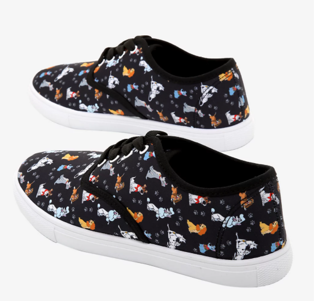 Disney Dogs Lace-Up Sneakers - Hot Topic Exclusive