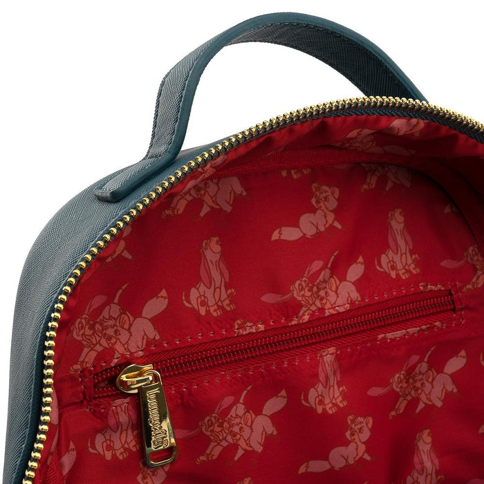 Loungefly x Disney Fox and the Hound Water Fight Mini Backpack