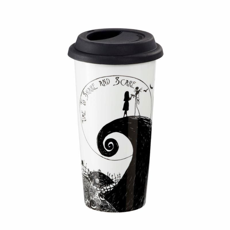 Nightmare before Christmas Travel Mug Time to Share and Scare