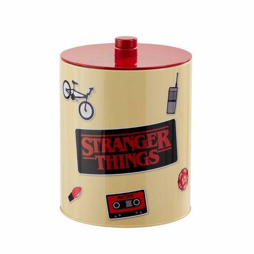 Stranger Things Cookie Jar Retro Poster