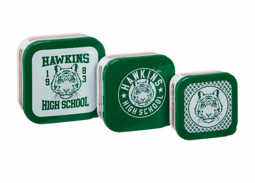 Stranger Things Kitchen Storage Set Hawkins High School