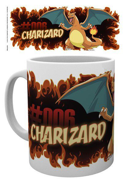 Pokemon Mug Charizard Fire