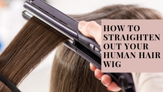 Straighten your Human hair wig with my easy tutorial ...