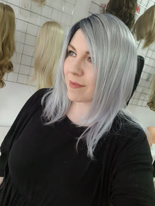 Dakota synthetic wig in Pastel blue R / Rene of Paris