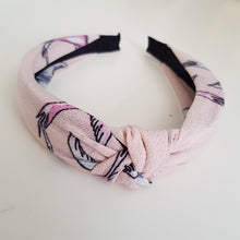 Load image into Gallery viewer, Pink pattern alice band