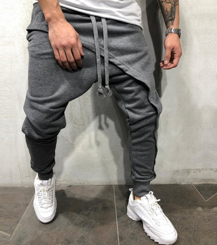 New Slim Casual Hip Hop Jogging Pants - newgugi