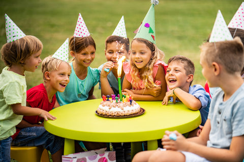 an image of children at a birthday party