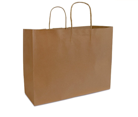 brown kraft bag
