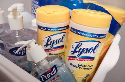 popular disinfecting supplies