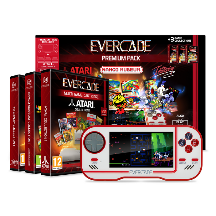 Evercade - Premium Edition (White)