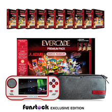Load image into Gallery viewer, Evercade Collector's Pack (1-10) (White) + Free Case