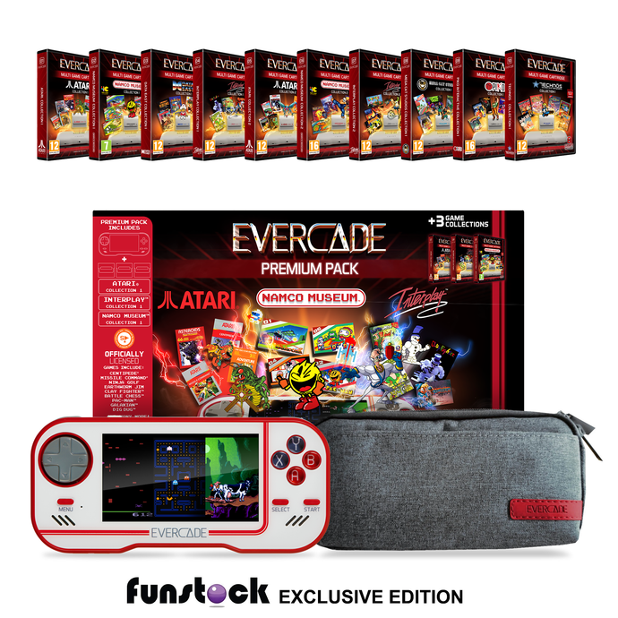 Evercade Collector's Pack (1-10) (White) + Free Case