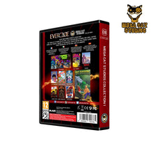 Load image into Gallery viewer, mega cat studios collection 1 evercade - back of box