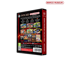 Load image into Gallery viewer, namco museum collection 1 evercade cartridge back of box packaging