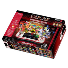 Load image into Gallery viewer, Evercade - ALL-IN (EXCLUSIVE Black Collector's Limited Edition) + Free Case + Exclusive Collectable Coin