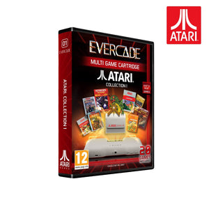 atari collection 1 evercade - front of box
