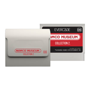 namco museum collection 1 cartridge evercade front and back