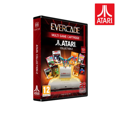atari collection 2 evercade - front of box