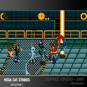 coffee crisis evercade screen shot