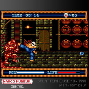 splatterhouse screen shot evercade