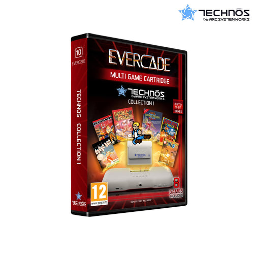 technos collection 1 evercade - front of box