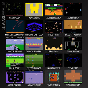 atari collection 1 evercade cartridge games screenshots
