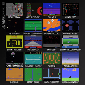 atari collection 2 evercade cartridge games screenshots
