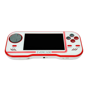 evercade white console front on