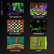 Load image into Gallery viewer, interplay collection 1 cartridge evercade games screenshots