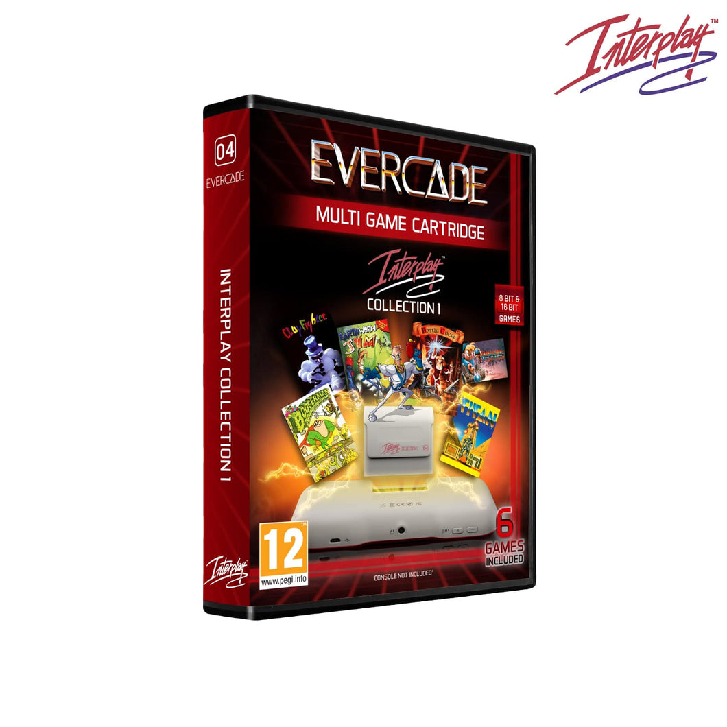 interplay collection 1 evercade - front of box