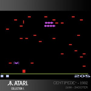 centipede evercade screenshot