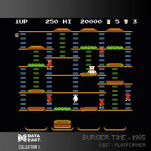 Load image into Gallery viewer, burger time screenshot for evercade