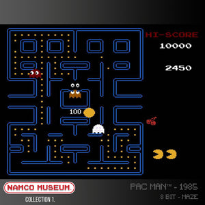 pac man evercade