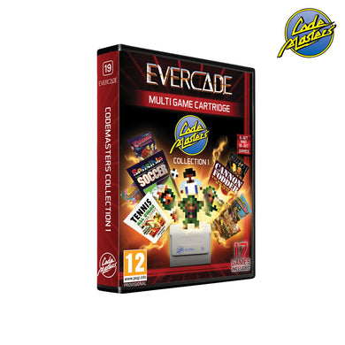 #19 Codemasters Collection 1 - Evercade Cartridge
