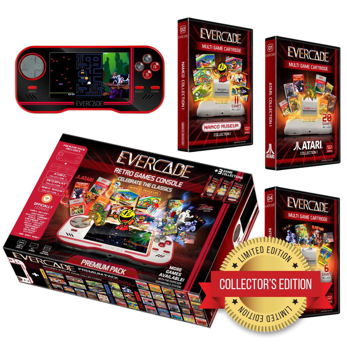 Evercade - Premium (Exclusive Black Collector's Limited Edition)