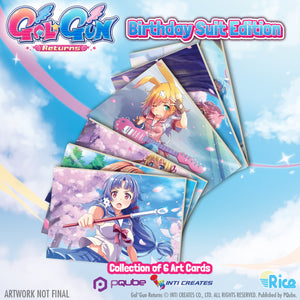 Gal*Gun Returns 'Birthday Suit' Collector's Edition (Nintendo Switch) - RICE DIGITAL EXCLUSIVE