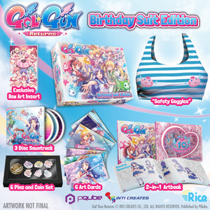Gal*Gun Returns 'Birthday Suit' Collector's Edition (with Xbox Digital Key) - RICE DIGITAL EXCLUSIVE