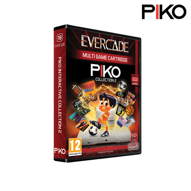 #16 Piko Interactive 2 - Evercade Cartridge